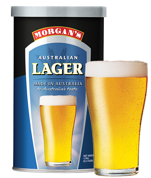 Morgans beer kits morgans brewing australian lager sciox Image collections