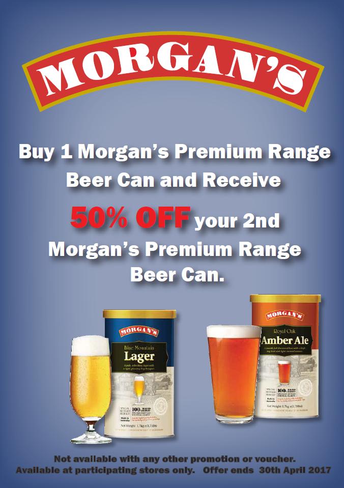 Morgans coupons